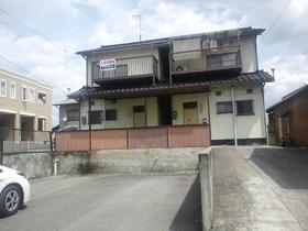 尾道市栗原町の賃貸テラスハウスの外観図