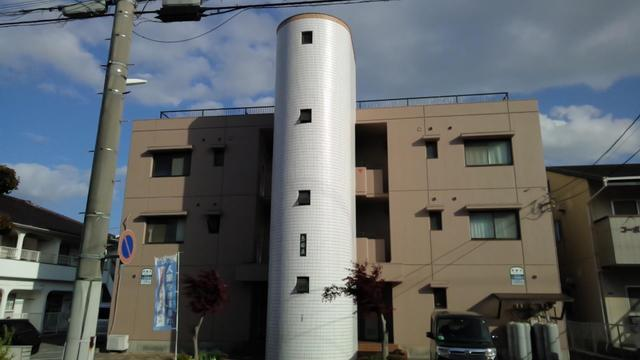 三原市宮浦6丁目の賃貸アパートの外観写真