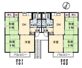 間取図(2)