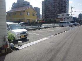 尾道市天満町の駐車場の外観図