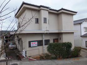 呉市上山田町の売戸建住宅の外観図