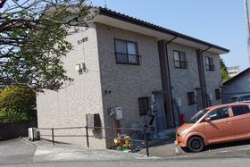 庄原市東本町1丁目の賃貸アパートの外観図