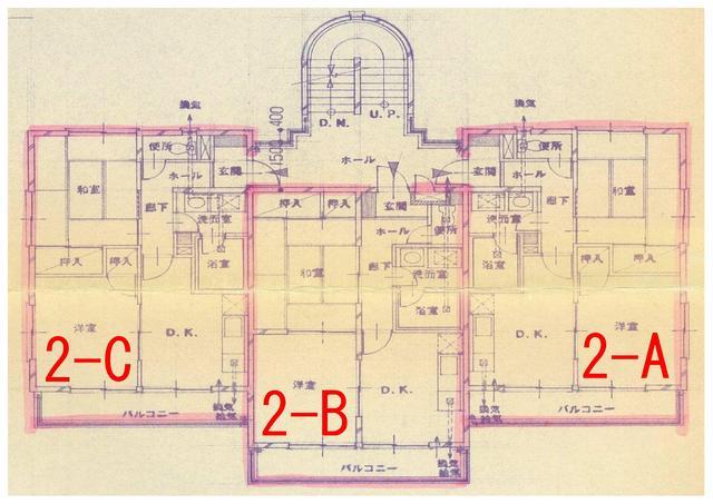 2階平面図 (2-C)