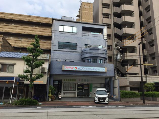 広島市南区宇品神田1丁目の売りビルの外観図