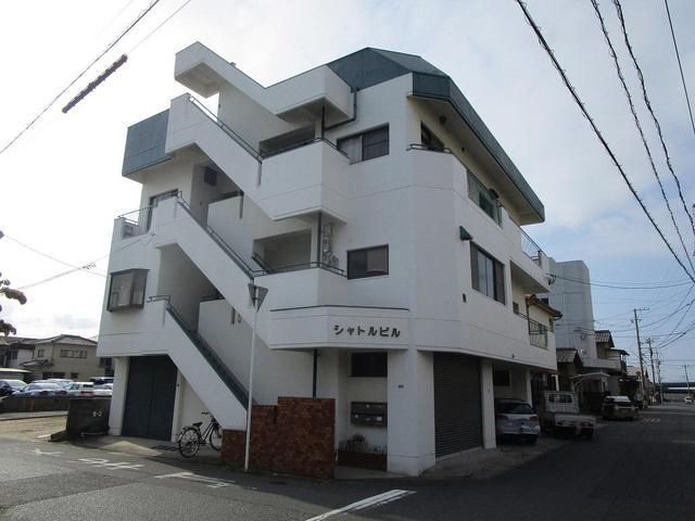 呉市阿賀南2丁目の賃貸アパートの外観図