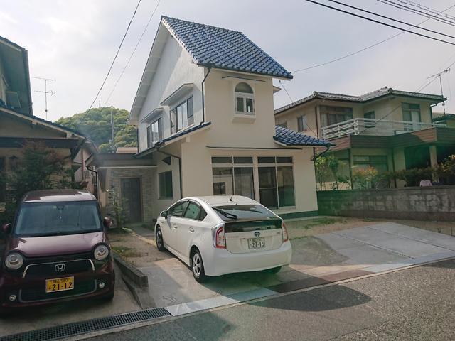 尾道市美ノ郷町三成の賃貸戸建て住宅の外観図