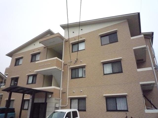 呉市広古新開7丁目の賃貸アパートの外観図