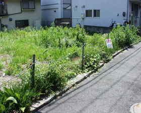 広島市安芸区船越6丁目の売土地,売り地の外観図